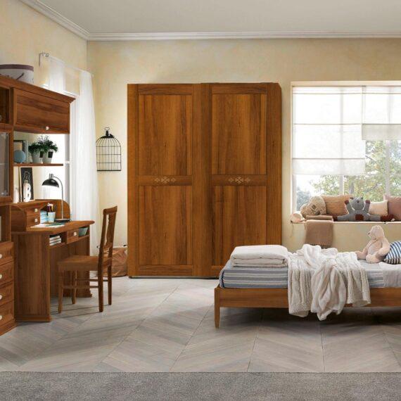 Cameretta in legno classica